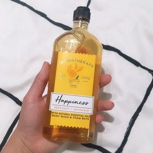 Happiness Aromatherapy: Bergamot + Mandarin